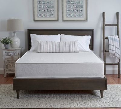 "Two-Sided 10"" Firm Foam Mattress"