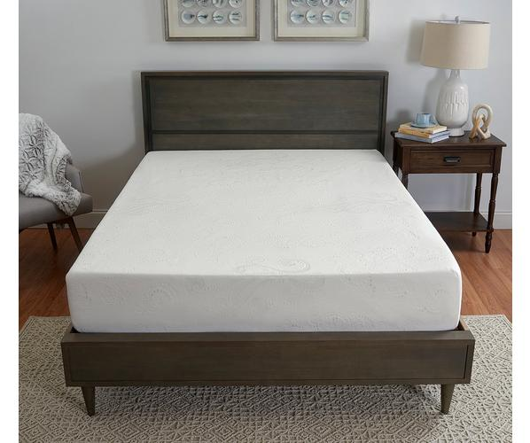 10 Medium Gel Memory Foam Mattress