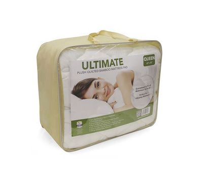 Ultimate Bamboo Quilted Waterproof Mattress Protector