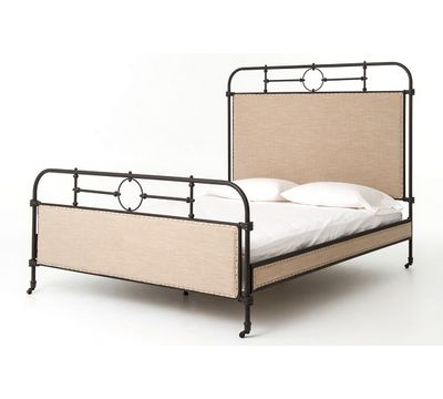 Irondale Berkley Bed with Aged Iron Frame