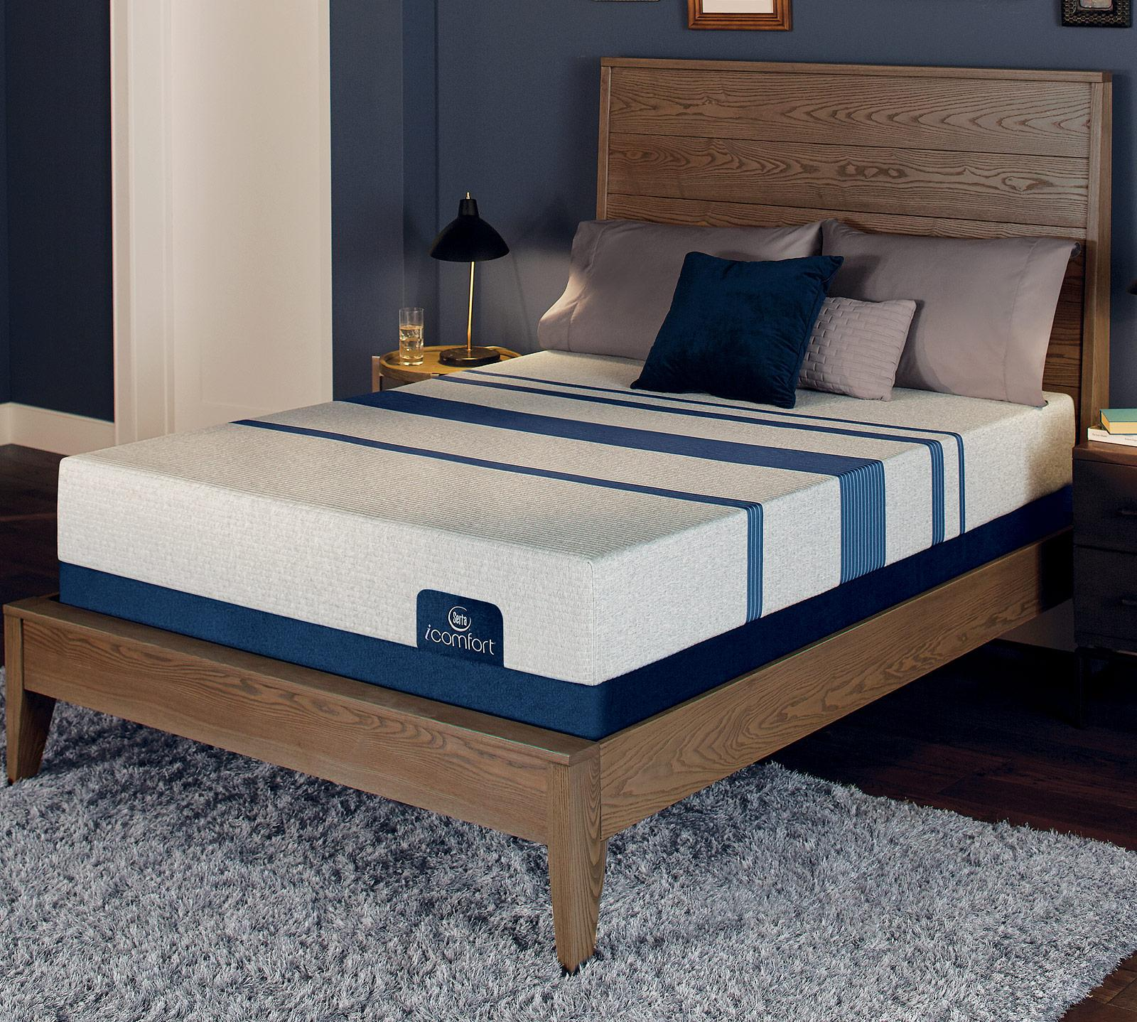 iComfort Blue Touch 100 9.75 Inch Gentle Firm Memory Foam Mattress