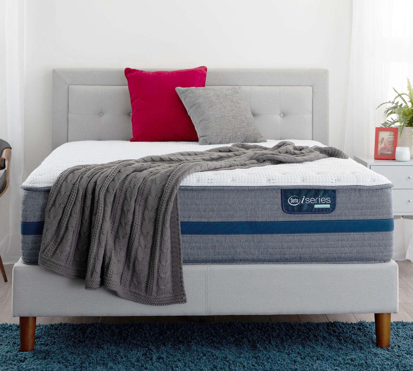 iSeries Hybrid 100 13.5 Inch Firm Mattress