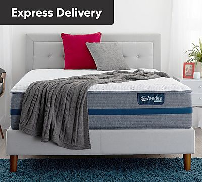 Serta iSeries Hybrid 100 13.5 Inch Firm Mattress