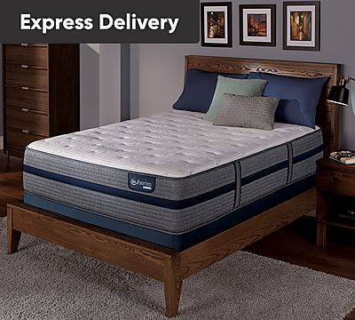 Serta iSeries Hybrid 300 13.5 Inch Plush Mattress