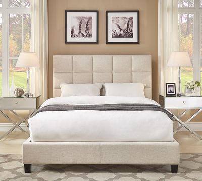 Fenton Column Platform Bed