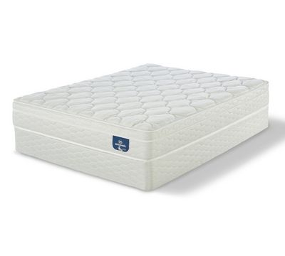 "Sertapedic Dennette 11"" Medium Euro Top Mattress"