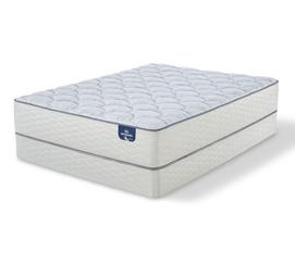 "Sertapedic Lorna 12"" Plush Innerspring Mattress"