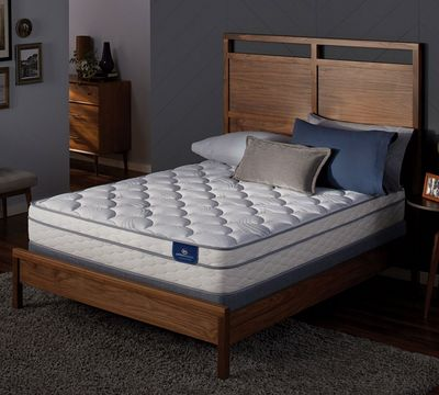 "Sertapedic Lorna 12.75"" Euro Top Mattress"