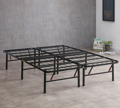 Cool Metal Frame Bed Concept