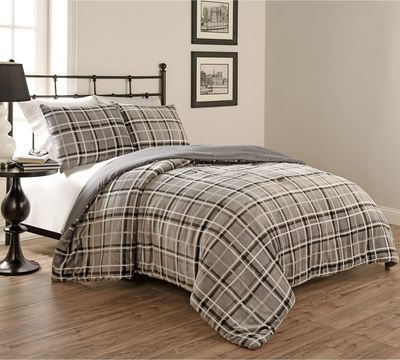 Clement Plaid Comforter Set