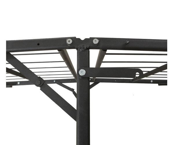 0ee547d2626 Mattress Firm Deluxe Raised Metal Platform Frame (Easy Assembly)