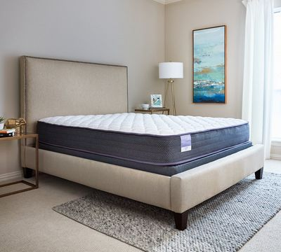 "Hush 10"" Firm Encased Coil Mattress"