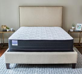 "Hush 10"" Plush Encased Coil Mattress"