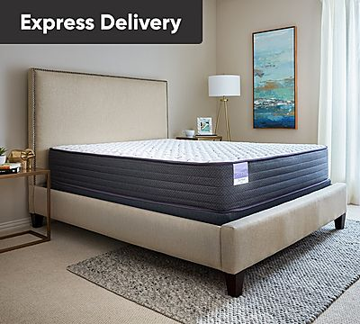 Sleepy's Slumber 12 Inch Firm Encased Coil Mattress