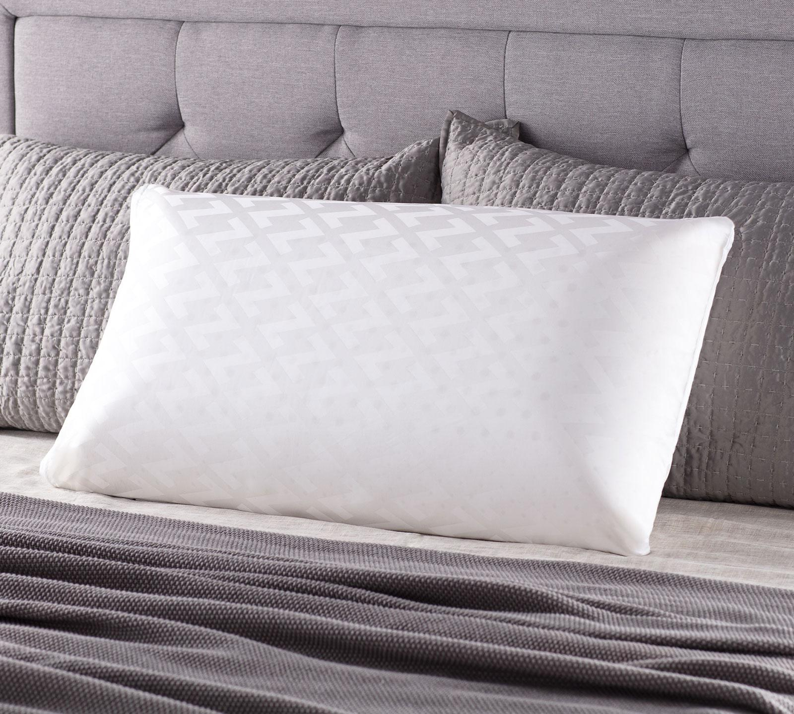 aerobreathe pillow memory inch infused elegant comforpedic reactive gel loft vidafino foam of