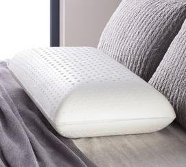 "Zoned Dough Memory Foam 7"" High Loft Plush Pillow"