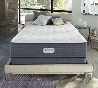 "Platinum Fairview 14"" Plush Mattress"