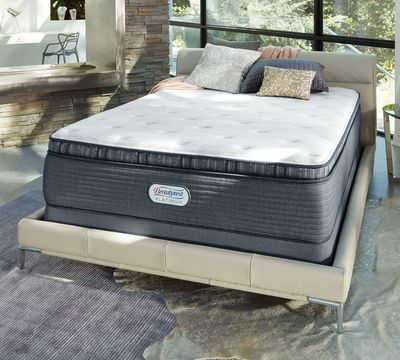 "Platinum Avery 15"" Luxury Firm Pillow Top Mattress"