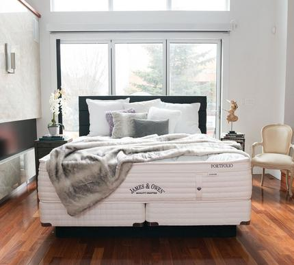 James and Owen Le Grande 15.5 Inch Firm Euro Top Mattress