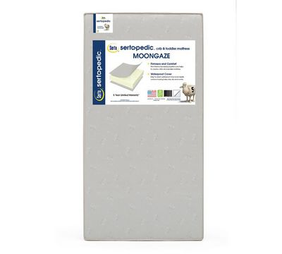 Sertapedic Moongaze Crib and Toddler Mattress