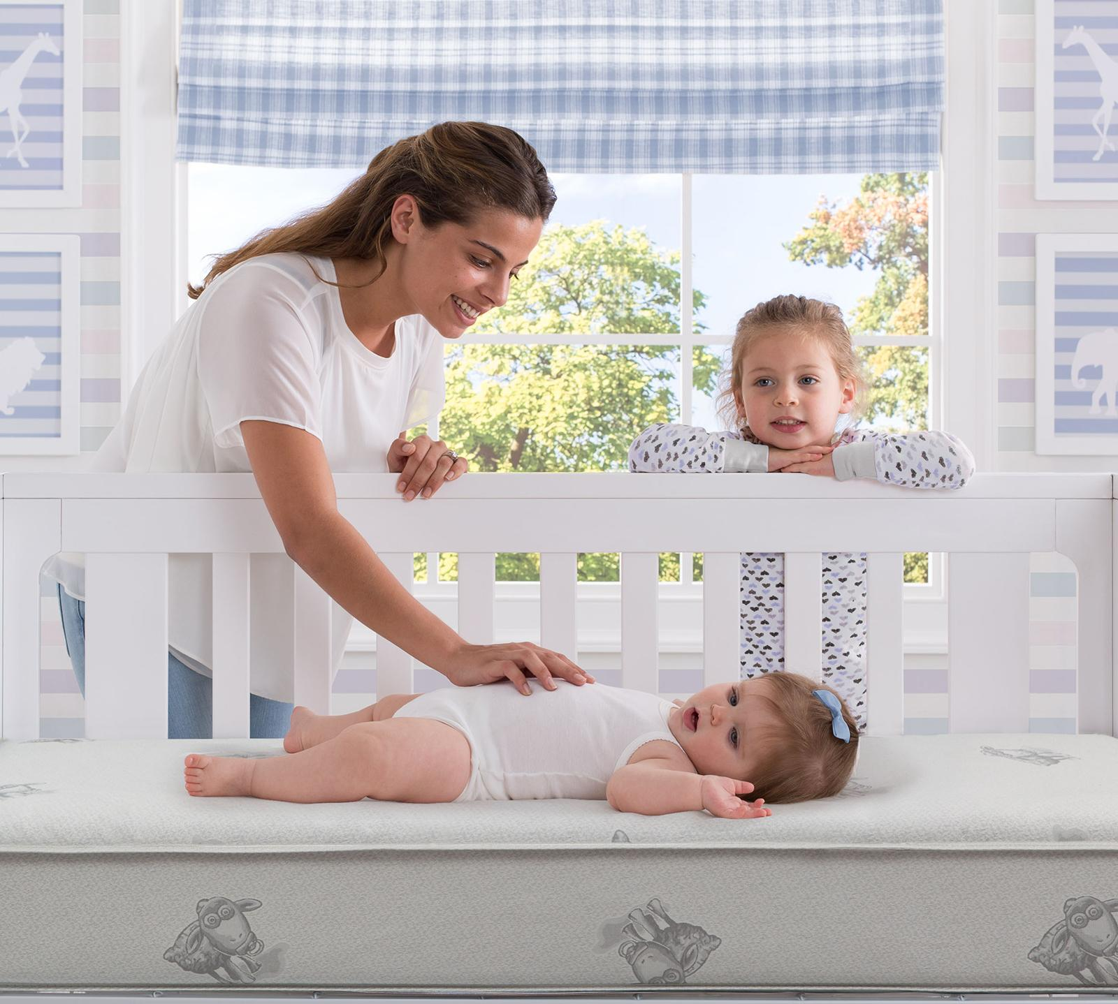 perfect sleeper harbour crib and toddler innerspring mattress