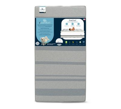 iComfort EverCool Crib and Toddler Memory Foam Mattress