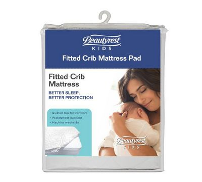 Waterproof Fitted Crib Mattress Protector