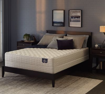 Serta Sertapedic Pendleton 8.25 Inch Firm Memory Foam Mattress