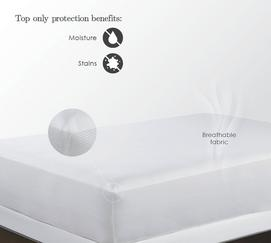 StainGuard PolyFlex Tricot Mattress Protector