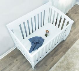 Premium Waterproof Crib Mattress Protector