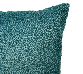Alexina Beaded Decorative Pillow