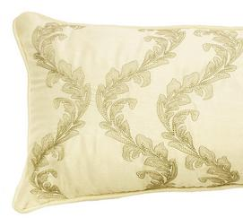 Alexina Embroidered Decorative Pillow