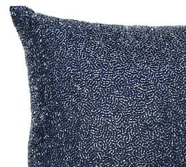 Normandy Beaded Decorative Pillow