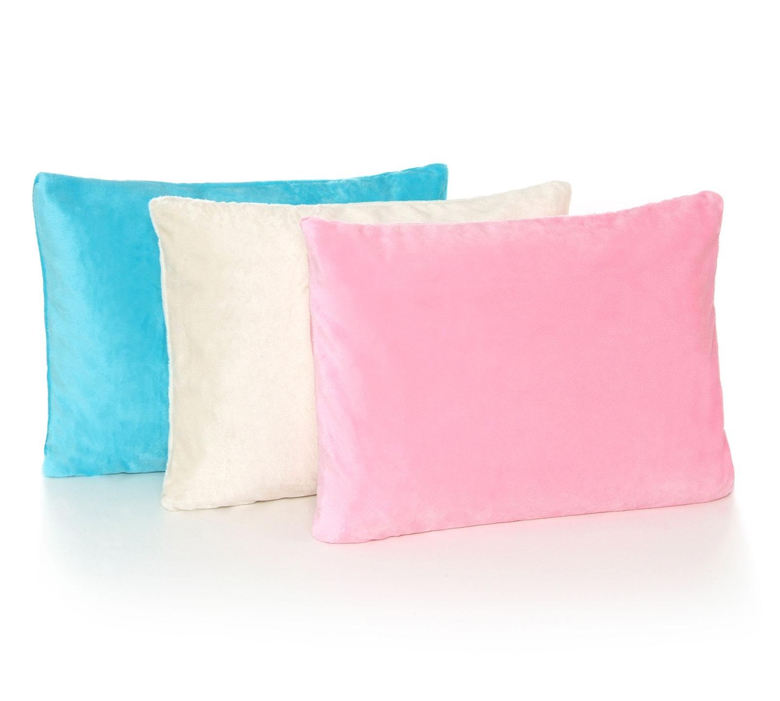 Pink My First Memory Foam Toddler Pillow with Matching Pillow Case