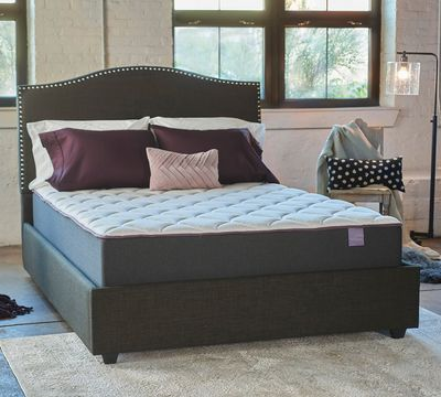 Sleepy's 12 Inch Plush Quilted Gel Memory Foam Mattress