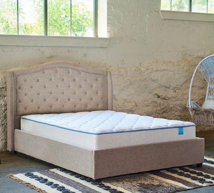 Sleepy's 10 Inch Medium Two-Sided Plush Quilted Foam Mattress