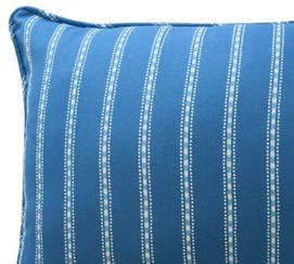 In the Clouds Striped Decorative Pillow