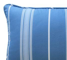 Ride the Waves Striped Decorative Pillow
