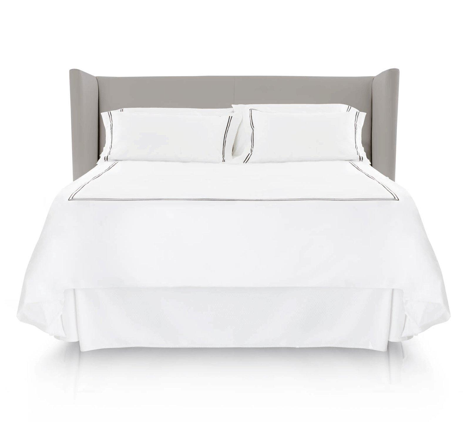Malouf King Woven Bed Skirt