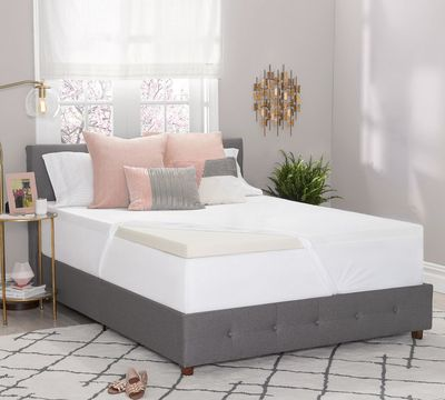 "Cradling Comfort 2"" Memory Foam Mattress Topper"