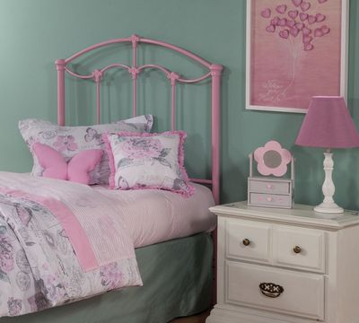 Amberley Kids Metal Headboard