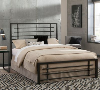 Colton Metal Snap Bed