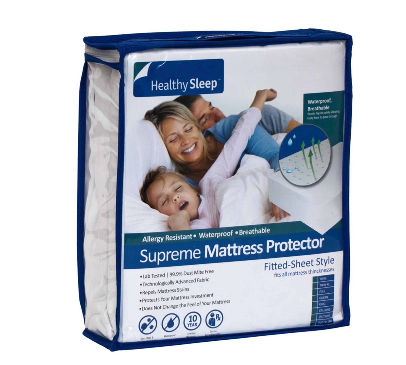 Healthy Sleep California King Supreme Interlock Mattress Protector
