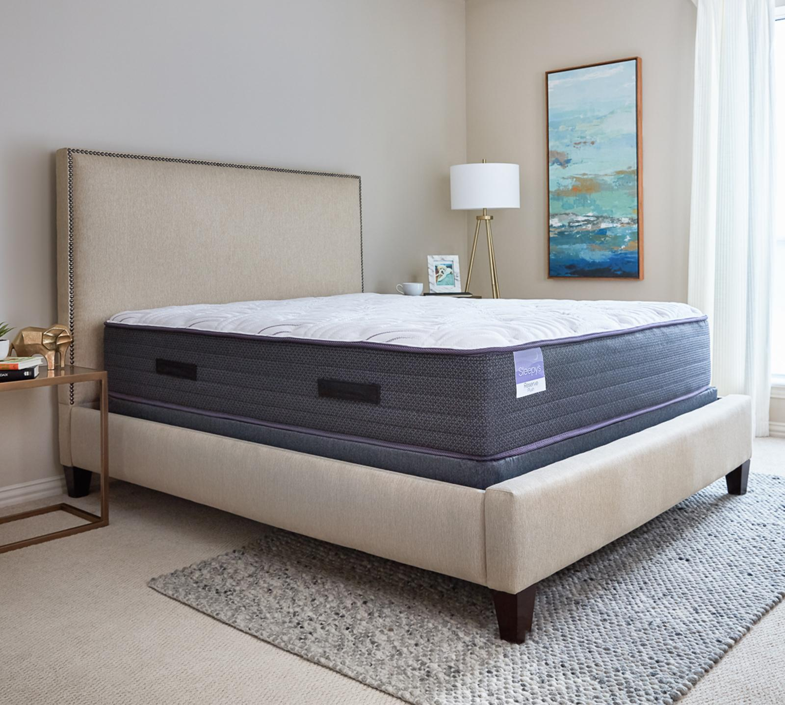 Sleepy's Twin Extra Long Reserve 13 Inch Plush Encased Coil Mattress