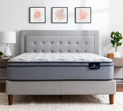 Serta Perfect Sleeper Charlotte 11.5 Inch Medium Plush Euro Top Mattress