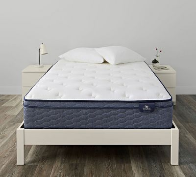 Serta SleepTrue Alverson II 13 Inch Plush Euro Top Mattress