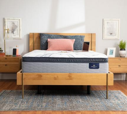 Serta Perfect Sleeper Elite Trelleburg II 14.25 Inch Firm Pillow Top Mattress