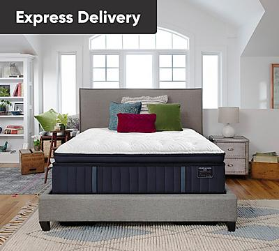 Stearns and Foster Estate Rockwell 15 Inch Luxury Firm Euro Top Mattress