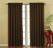 Suede Blackout Window Panel