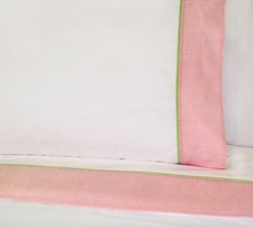 Annas Ruffle Pink Sheet Set